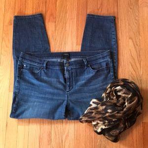 Ann Taylor modern Skinny Jeans Ankle length 16